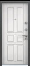 Дверь Torex Super Omega-10 Черный шелк RP1 Белый RS8
