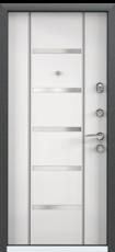 Дверь Torex Super Omega-10 Черный шелк RP2 Белый RS1
