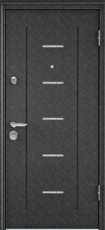 Дверь Torex Super Omega-10 Черный шелк RP4 Белый RS7