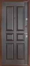 Дверь Бульдорс 12С Античная медь  Венге С-2