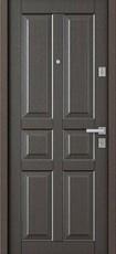 Дверь Бульдорс 12С Античная медь  Орех темный С-2