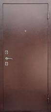 Дверь Ратибор Модерн Античная медь  Итальянский орех