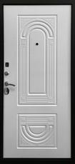 Дверь Ратибор Оптима 3К Античная медь  Матовый белый