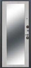 Дверь Цитадель Троя Серебро  Дуб Сонома MAXI зеркало