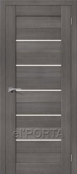 Дверь el'Porta Порта X 22 Grey Veralinga экошпон