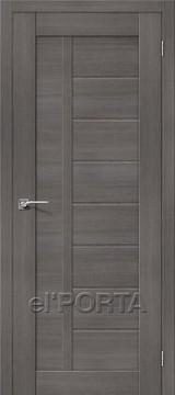 Дверь el'Porta Порта X 26 Grey Veralinga экошпон