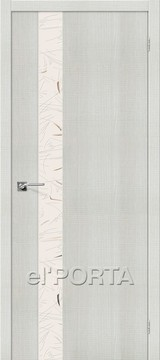 Дверь el'Porta Порта Z 51 SA Bianco Crosscut экошпон