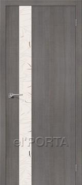 Дверь el'Porta Порта Z 51 SA Grey Crosscut экошпон