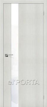 Дверь el'Porta Порта Z 51 WW Bianco Crosscut экошпон