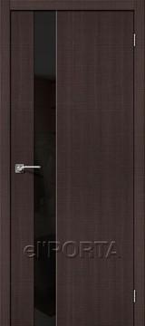 Дверь el'Porta Порта Z 51 BS Wenge Crosscut экошпон