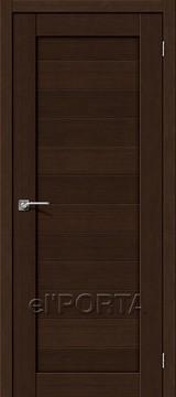 Дверь el'Porta Порта X 21 Wenge 3D-Graf