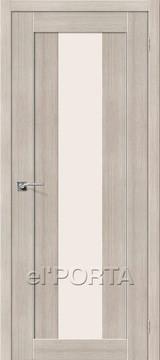 Дверь el'Porta Порта X 25 alu Cappuccino 3D-Graf