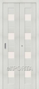 Дверь el'Porta складная Porta X 23 Bianco Veralinga экошпон