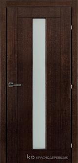 Дверь Краснодеревщик 83 02 Дуб мореный натуральный шпон